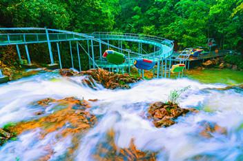 湖nan省九龙jiang国家森林公园