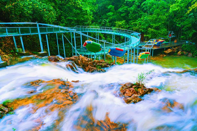 16.hunansheng九龙jiang国jia森lingong园